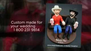 Sex wedding cake topper Same