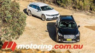Subaru Outback v Volkswagen Passat Alltrack