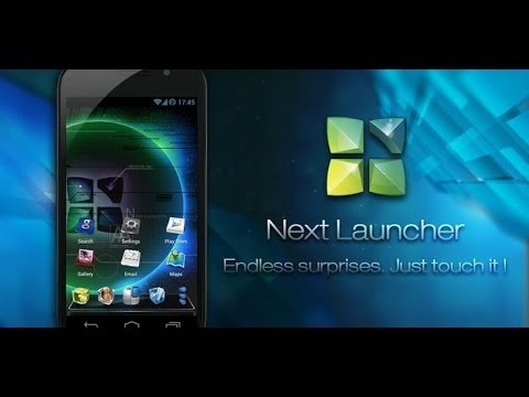 Android Next Launcher 3 on ZTE Blade Q Maxi (Orange Reyo)