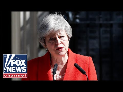 Theresa May to resign as UK prime minister