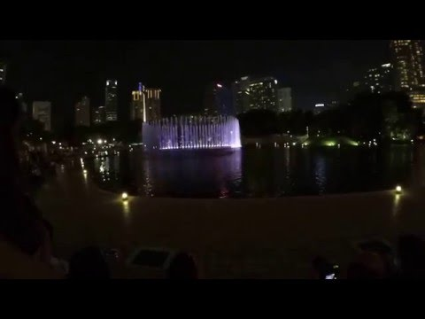 Musical Fountain in Kuala Lumpur