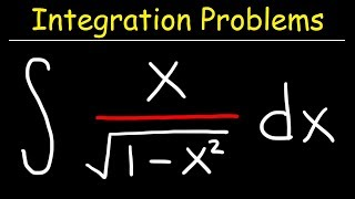 Integral of x/sqrt(1-x^2) thumbnail