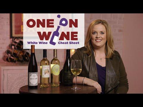 White Wine Cheat Sheet | One on Wine