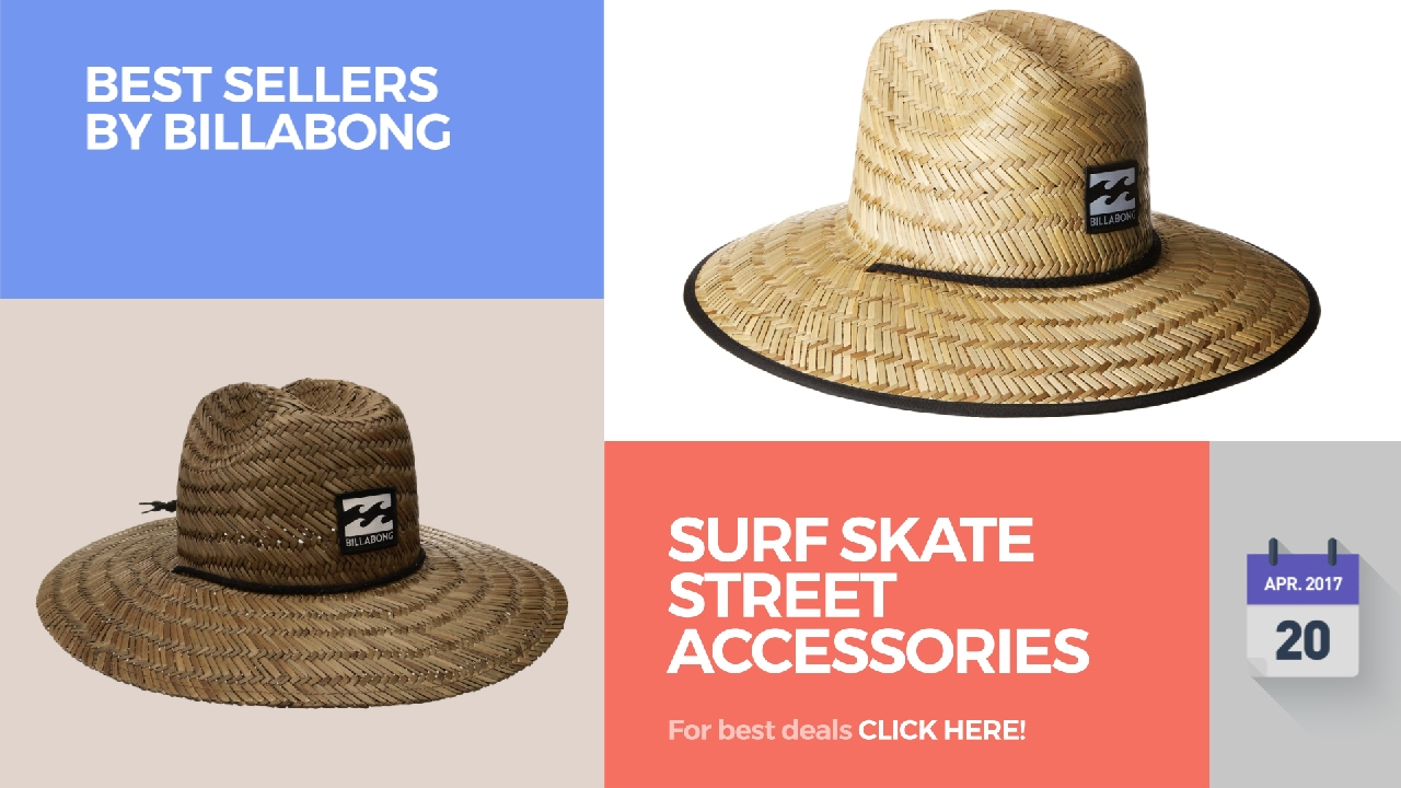 Surf Skate Street Accessories Best Sellers By Billabong - YouTube 0b9cc82b83e