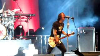 Adam Gontier - I Don't Care - LIVE