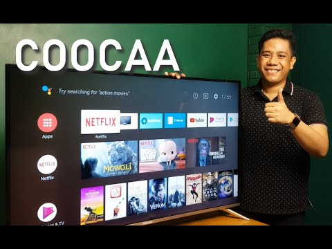 COOCAA 50S5G 50-inch Android Smart TV Unboxing, Set-up, Quick Review