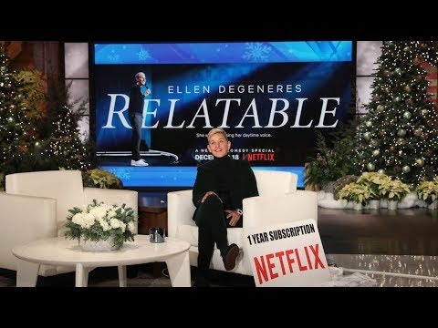 Jaime in the Morning! - Ellen's Stand Up Special Is On Netflix Now!  Here's a Sneak Peek!!