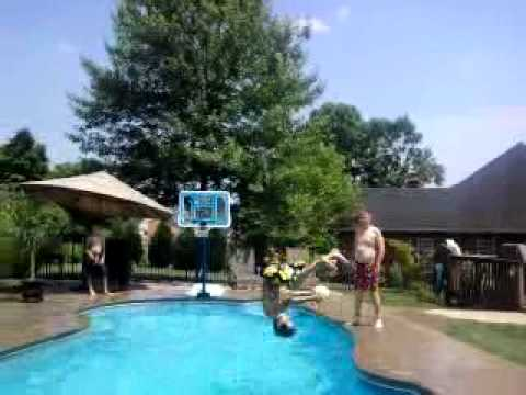 Beastly Pool Dunk !!!