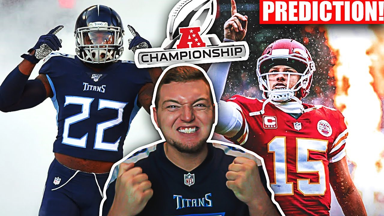 My Titans vs. Chiefs AFC Championship Game Prediction thats 100% Correct