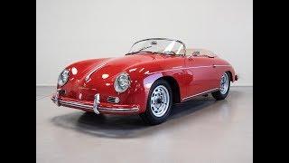 1957 Porsche 356 A Speedster T1 Restoration