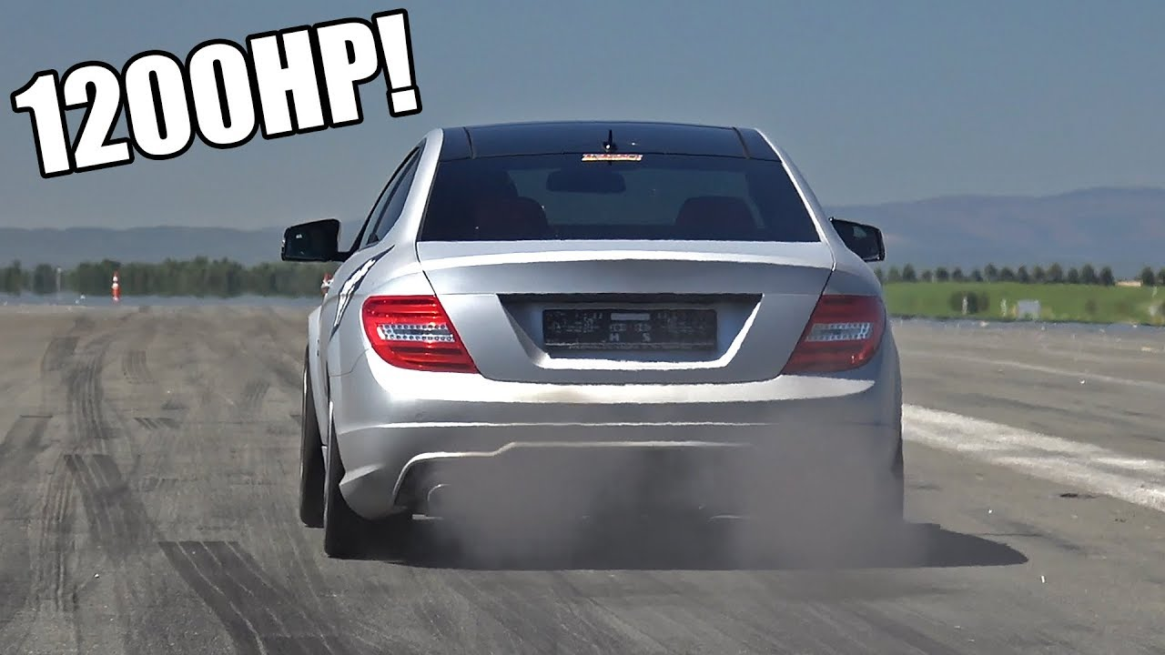 1200-HP Mercedes C63 AMG Exhaust Sound - GAD Motors-Tuned C63 Engine