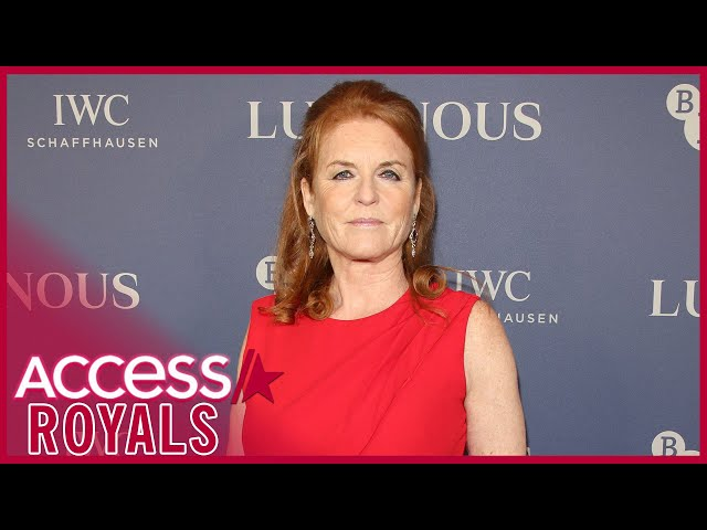 Sarah Ferguson Stands By Prince Andrew & Talks About Princess Diana