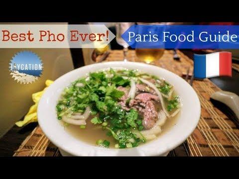 BEST PHO EVER 🍜 | 🇫🇷🗼 PARIS FRANCE FOOD GUIDE