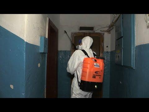 Житомир.info | Новости Житомира: КК «Добробут Житомир» спільно з ліфтовими компаніями проводить дезінфекцію ліфтів - Житомир.info