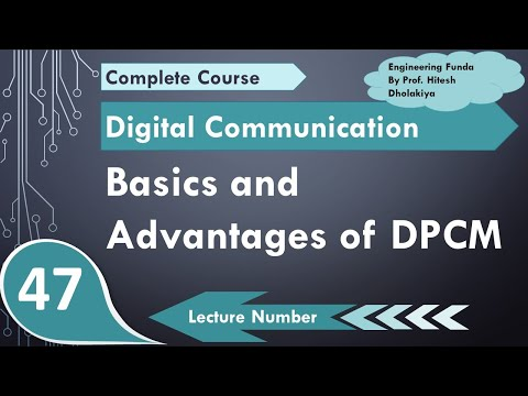 L-43 Basics and Advantages of DPCM Differential Pulse Code Modulation in  Digital Communication