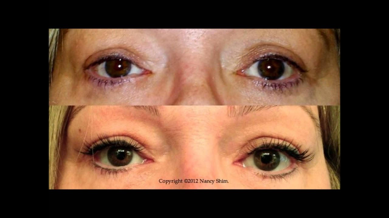 Eyelash Perming Before And After Youtube