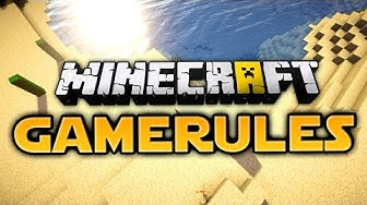 Minecraft Gamerule Command Tutorial (German)