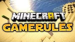 Minecraft Gamerule Command Tutorial (German)