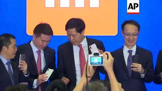 Chinese tech company Xiaomi announces Hong Kong IPO plan