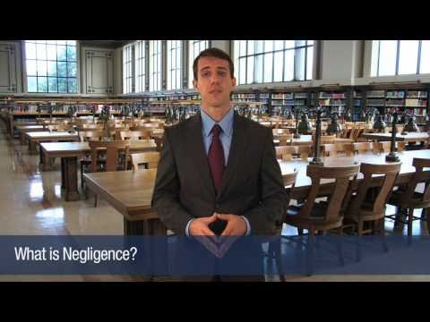 The Law Office of Stanley A. Davis - What is Negligence?