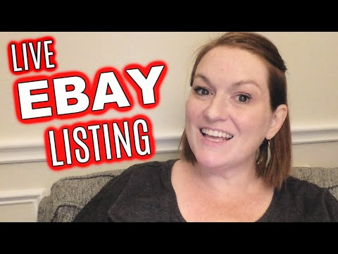 How To Create An Ebay Listing & Crosspost To Etsy With Keywords, Description, And Title