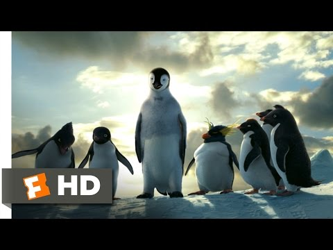 Happy Feet (8/10) Movie CLIP - Mumble Takes a Leap (2006) HD
