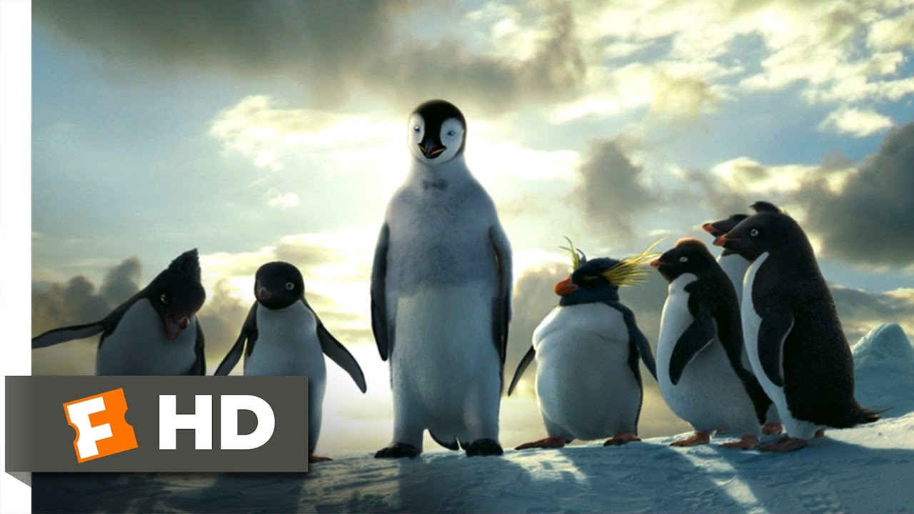 happy feet (8/10) movie clip - mumble takes a leap (2006) hd - youtube