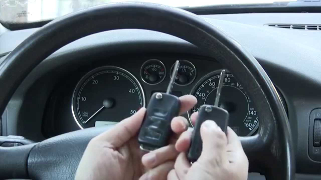 Key and remote replacement and troubleshooting: mk4 Jetta