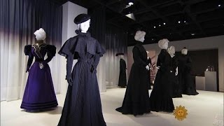 What widows wore: Victorian fashions for mourning