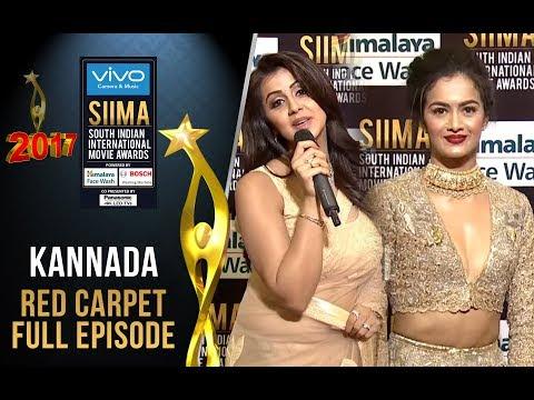 SIIMA 2017 - Kannada Curtain Raiser & Red Carpet   Full Episode