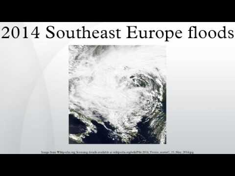 2014 Southeast Europe floods