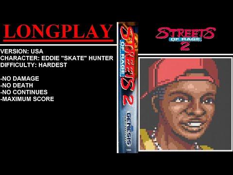 Streets of Rage 2 (Sega Mega Drive / Genesis) - (Longplay - Skate Hunter   Hardest Difficulty)