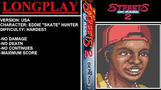 Streets of Rage 2 (Sega Mega Drive / Genesis) - (Longplay - Skate Hunter | Hardest Difficulty)