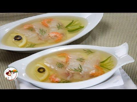Заливная рыба – холодная закуска к праздничному столу. Пошаговый рецепт.