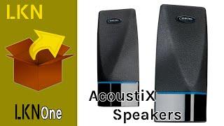 Unboxing of AcoustiX Multimedia Speakers
