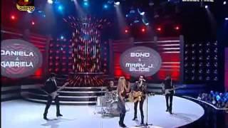 Daniela Pimenta e Gabriela Barros One (Bono e Mary J. Blige)