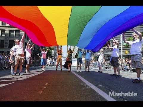 NYC Pride March: Celebrating How Far Weve Come | Mashable