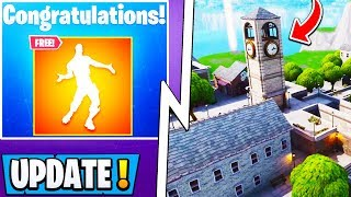 *NEW* Fortnite Update! | Free Emote Glitch, Mysterious Markets Confirmed, Dragon Info!