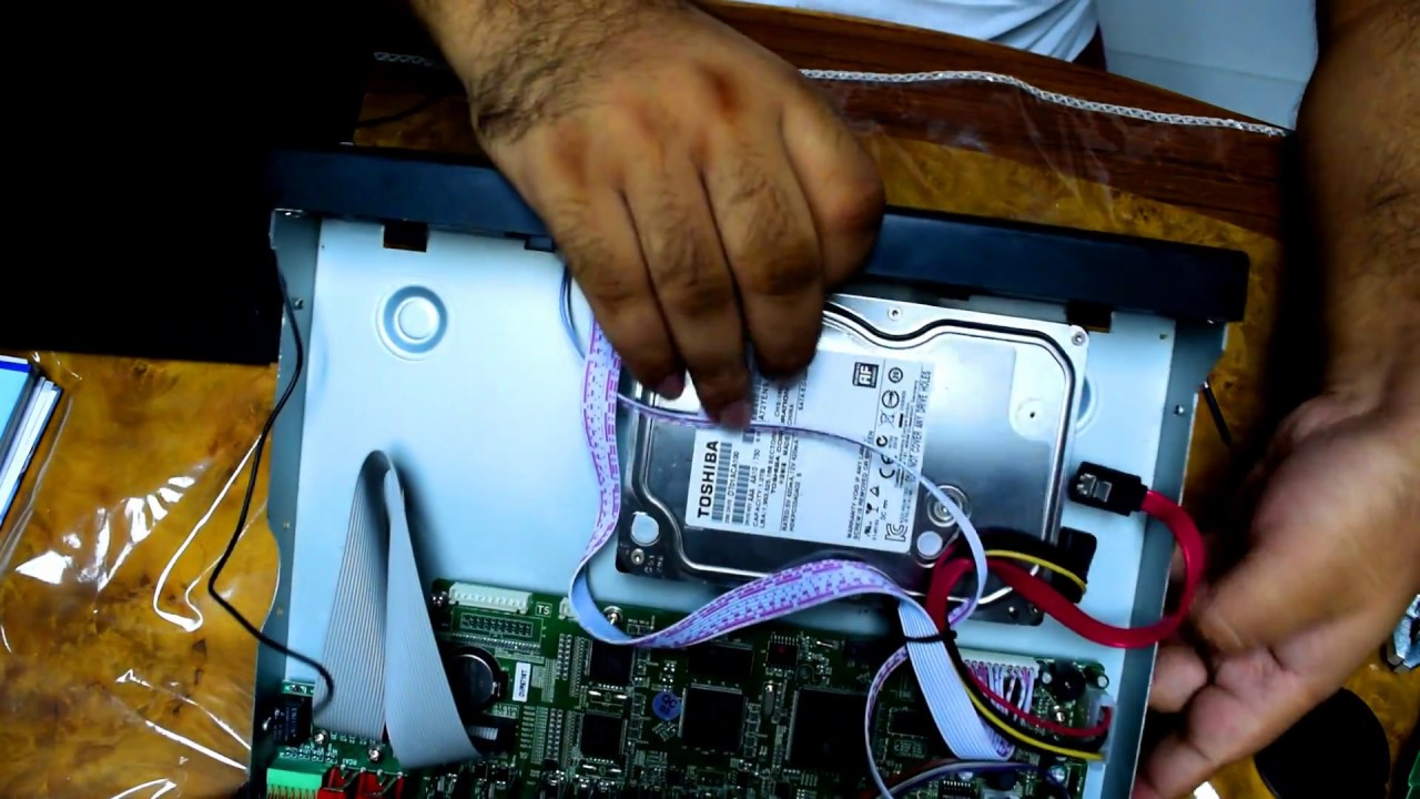 DVR Tear Down and Hard Disk Replacement