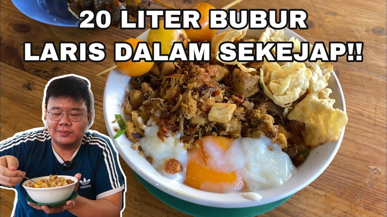 BUBUR PALING ENAK DI JAKARTA BARAT!! BUBUR AYAM ALFA MERUYA..