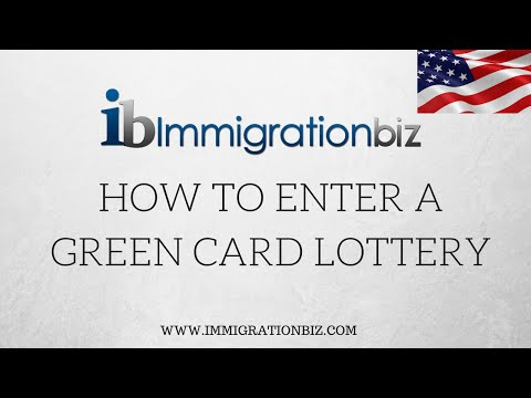 How to enter the Green Card Lottery Diversity Visa 2018