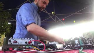 "Shed + Old & Young + Ilan Tape @ We Play The Music We Love ""Open Air IX"" - Turin, 23/06/2013"