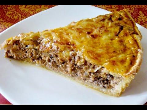 вкусный мясной пирог в духовке рецепт с фото