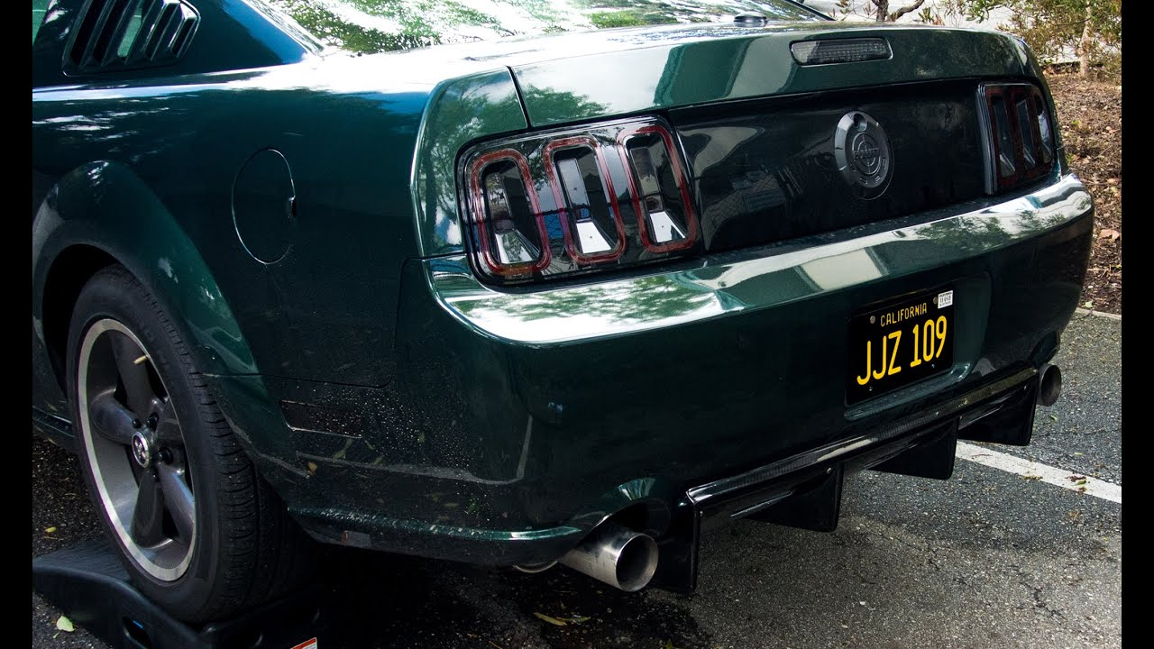 Apr Mustang Carbon Fiber Rear Diffuser 2005 2009 Youtube