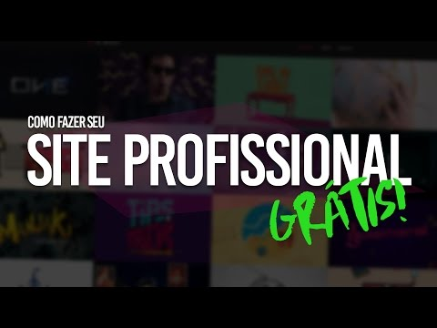 Como criar um WEBSITE PROFISSIONAL