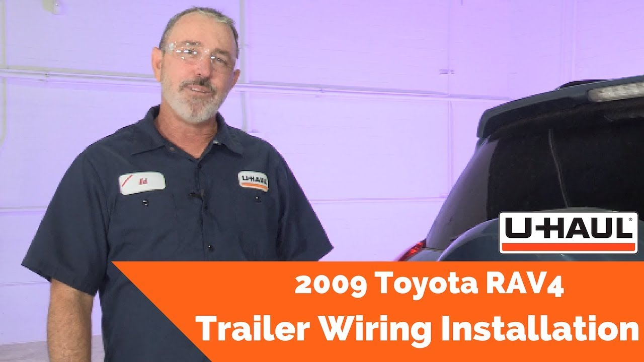 2009 toyota rav4 trailer wiring installation  amazon com curt 56217 vehicle side