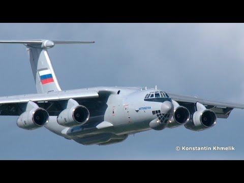 Ил-76 Ил-76МД-90А Ил-476 МАКС 2013 IL-76 IL-76MD-90A IL-476 MAKS 2013