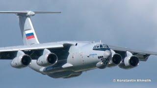 أول رحلة جوية لطائرة النقل العسكري الروسية المطورة