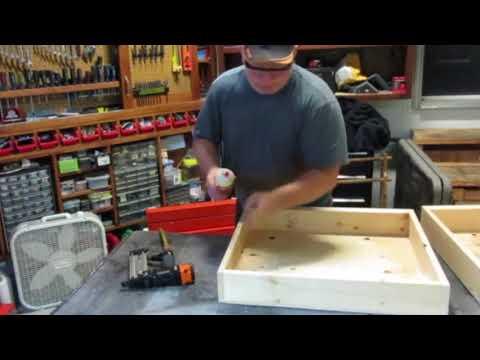 Hardware & Parts Storage Cabinet With Sliding Doors   Workshop Organization Ideas