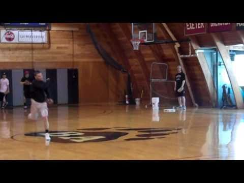 "Bridgton Baseball Drills - ""Slow Rollers"" Drill"